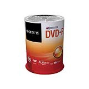 Sony 100DMR47SP - Spindle de 100 DVD-R 4.7 Go 16x