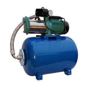 Omni Pompe d'arrosage POMPE DE JARDIN pour puits 1500 W 95l/min avec ballon surpresseur 24L