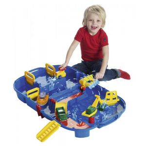 Big AquaPlay - 8700001516 - Circuit d'eau Set Transportable - 25 Pièces