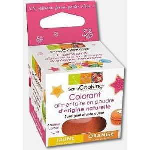 Scrapcooking 4205 - Colorant alimentaire origine naturelle orange