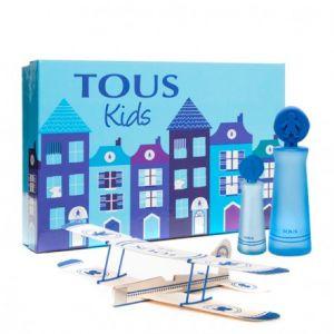 Tous Kids - Coffret eau de toilette, avion en bois et miniature