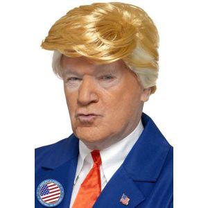 Smiffy's 48376 - Déguisement - Perruque du Président, Blond,