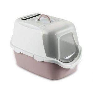 Zolux Maison de toilette 54 x 29,5 x 39 cm - Gris rosé