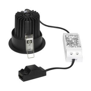 SLV Spot LED encastrable 114500 noir mat 12 W noir mat