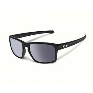 Oakley OO9262 SLIVER Black / Grey Lunettes de soleil