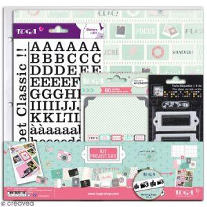 Toga Kit déco scrapbooking - Clic Clac