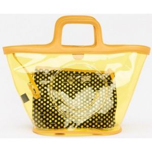 Lollipops Dvie smiley - Sac shopping - jaune