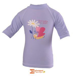 Piwapee Tee-shirt anti-UV 6-12 mois