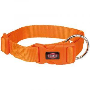 Trixie Premium collier - L-XL: 40-65 cm/25 mm, papaye