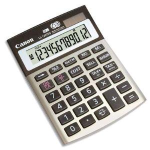 Canon LS-120TSG - Mini-calculatrice écologique de bureau