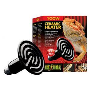 Exo terra Ampoule reptile ceramique heat wave 100 W