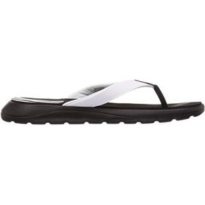 Adidas Comfort, Tongues Femme, Cblack/Ftwwht/Cblack, 38 2/3 EU