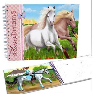 Depesche Top Model - Album de coloriage Horses Dreams