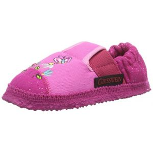 Giesswein Aumühle, Chaussons Doublé Chaud fille, Rose (330 Orchidee), 25 EU