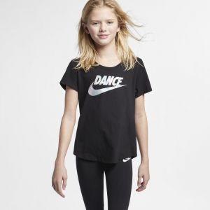 Nike Tee-shirt Dri-FIT pour Fille plus âgée - Noir - Taille L - Female