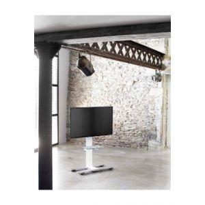 Erard Meuble TV WILL 1050 BLANC AVEC TABLETTE