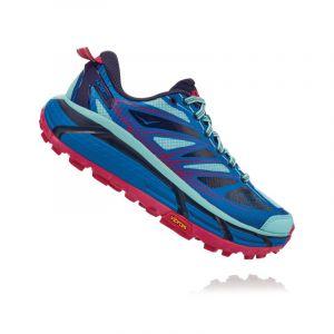 Hoka One One Mafate Speed 2 Imperial Blue Antigua Sand Chaussures de trail Femme