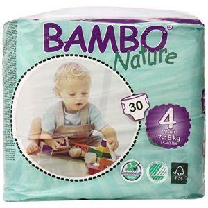 Bambo Nature Couches écologiques taille 4 Maxi 7-18 kg - 50 unités