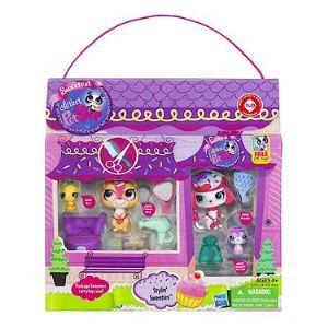 Hasbro 2 Petshop en scène (modèle aléatoire)