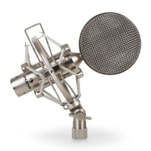 Auna CRM15 - Micro à rubans studio XLR professionel vintage