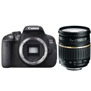 Canon EOS 700D (avec objectif Tamron 17-50mm)