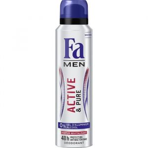 FA Men Active & Pure Déodorant spray 48H