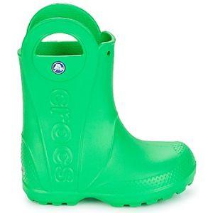 Crocs Handle It,Bottes de Pluie,Mixte Enfant,Vert (Grass Green), 22/23 EU
