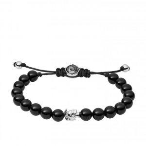 Diesel Bracelet DX1070040 - Bracelet Stackable Perles Agathe Homme
