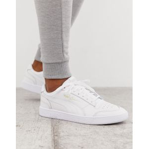 Puma Chaussure Basket Ralph Sampson Lo pour Homme, Blanc, Taille 47