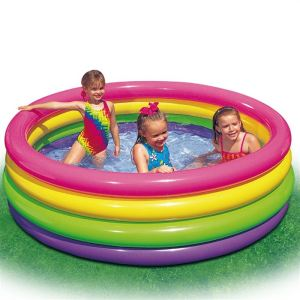 Intex Piscine Sunset Glow gonflable