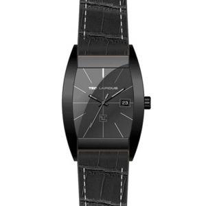 Ted Lapidus 5126001 - Montre pour homme avec bracelet en cuir