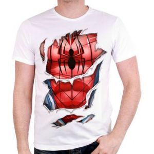 Cotton Division T-Shirt Spider-Man (Taille XL)
