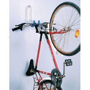 Mottez Crochet vélo mural gainé