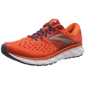 Brooks Chaussures running Glycerin 16 Standard - Orange / Red / Ebony - Taille EU 42 1/2