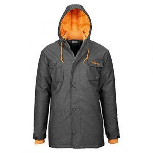 Spalding Parka - Jeans / Orange - Taille XL
