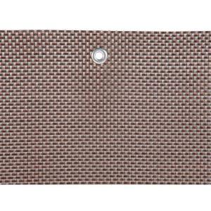 Naterial Brise vue Manhattan gris 1m x 3m