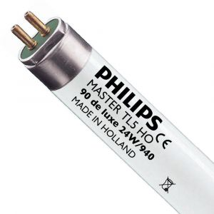Philips Tube fluorescent G5 T5 24W 940 Master TL5HO Deluxe