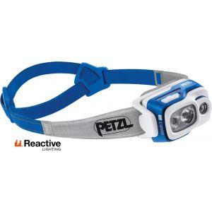 Petzl Swift RL - 900 lumens Lampe frontale / éclairage Bleu - Taille TU