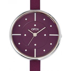 OPEX Paris X3891LA3 - Montre pour femme avec bracelet en cuir