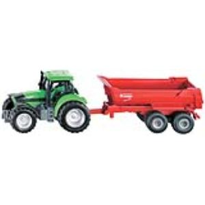 Siku 1632 - Tracteur avec benne basculante semi-ronde - Echelle 1:64