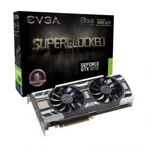 Evga 08G-P4-6173-KR - Carte Graphique GeForce GTX 1070 SuperClocked 8 Go