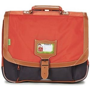 Tann's Cartable 2 Compartiments 38 cm + Trousse Orange