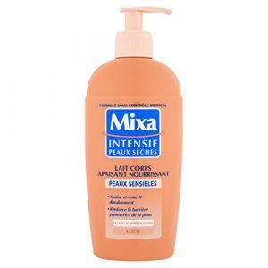 Mixa Intensif Peaux Sèches - Lait Corps Apaisant Nourrissant pour Peaux Sensibles - 250 ml