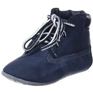 Timberland TB0A1LU3 - Chaussure - Mixte Bébé - Bleu (Navy Naturebuck 410) - 18.5 EU