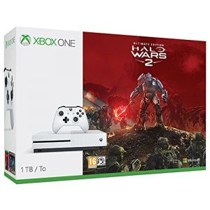 Microsoft Xbox One S 1To + Halo Wars 2