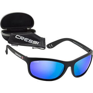 9232584cfa611 Cressi Rocker - Lunettes de Soleil Polarisées Pour homme - 100% Anti-UV Avec