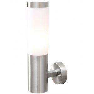 """MW-Light Applique Extérieur """"Pegos"""" 33cm Argent"""