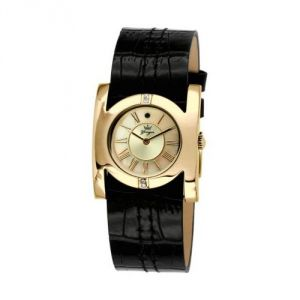 Yonger & bresson Ccd 1468/05 - Montre pour femme avec bracelet en cuir