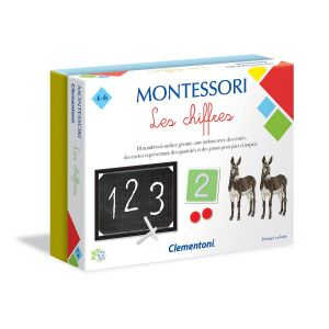 Clementoni Montessori Les chiffres