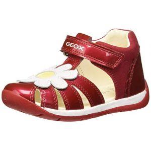 Geox Sandales enfant B EACH GIRL rouge - Taille 20,21,22,23,24,25